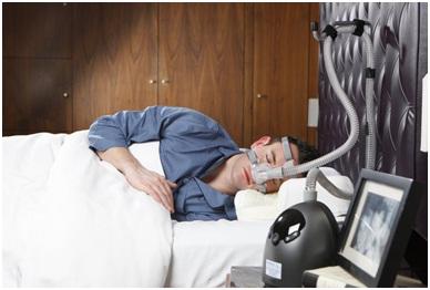 how does a sleep apnea machine work