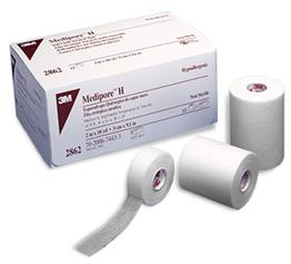 Medipore Tape and Cloth Dressing
